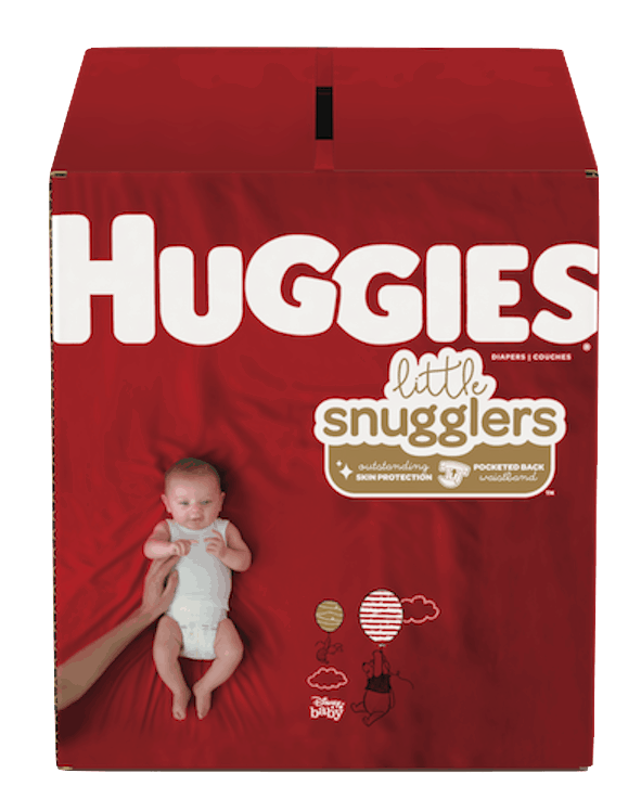 $0.50 for Huggies® Little Snugglers (expiring on Monday, 12/02/2019). Offer available at Walmart.