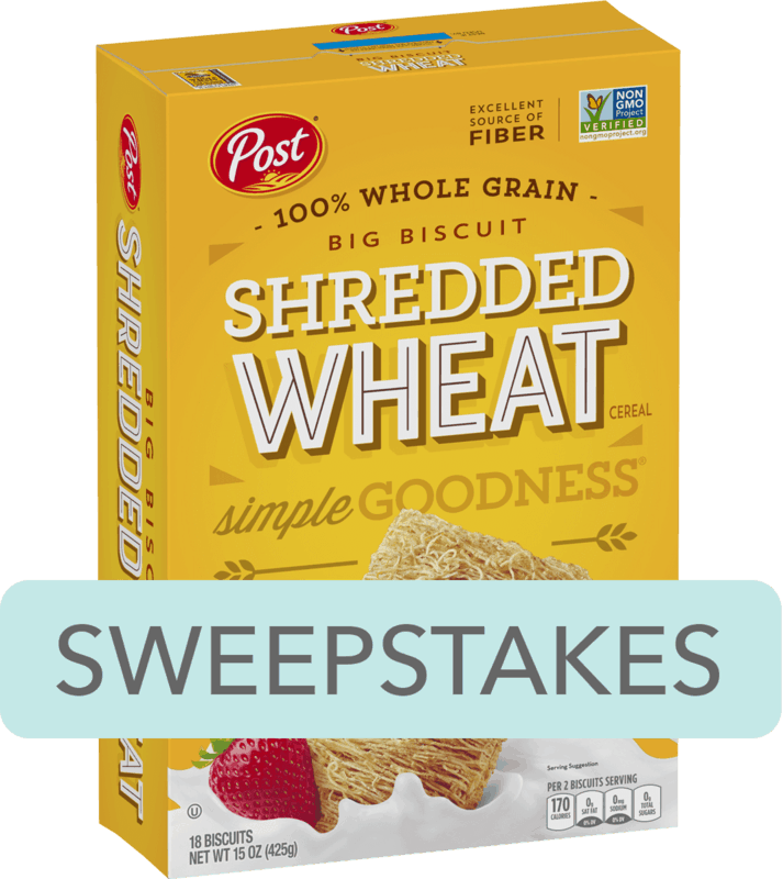 $0.50 for Post® Shredded Wheat. Offer available at multiple stores.