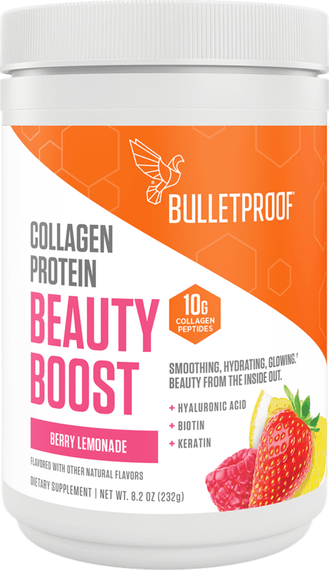 $8.00 for Bulletproof Collagen Boosts. Offer available at Sprouts Farmers Market.