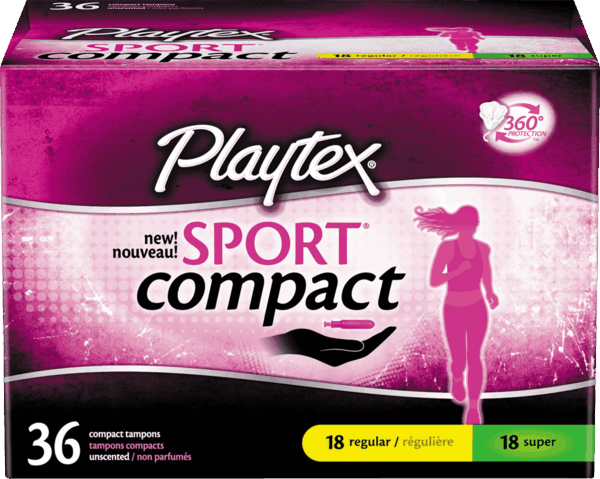 $1.00 for Playtex® Tampons. Offer available at Target.