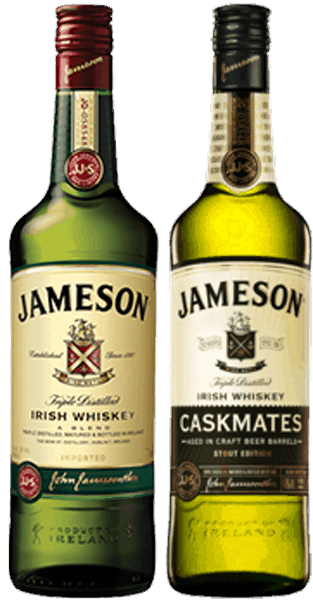 $10.00 for Jameson® Original & Jameson® Caskmates (expiring on Saturday, 11/18/2017). Offer available at multiple stores.