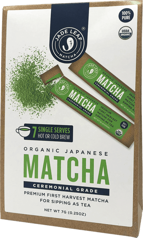$2.00 for Jade Leaf Organic Ceremonial Matcha Sticks (expiring on Tuesday, 04/28/2020). Offer available at Walmart.
