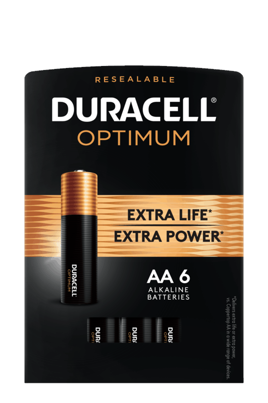 $1.00 for Duracell Optimum Batteries (expiring on Thursday, 07/02/2020). Offer available at Walmart.