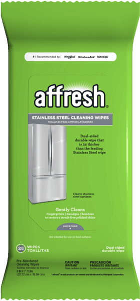 $1.00 for affresh® Stainless Steel Cleaning Wipes (expiring on Tuesday, 01/08/2019). Offer available at Home Depot.