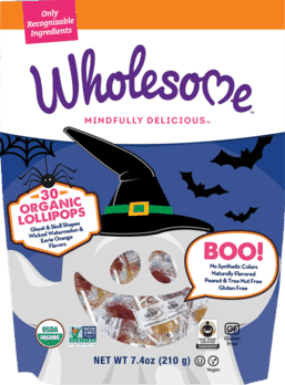 Wholesome!® Halloween Lollipops