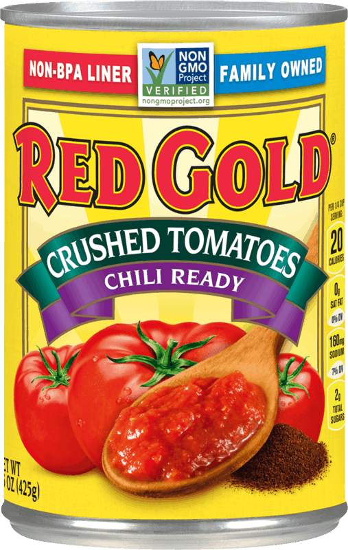 $0.50 for Red Gold Chili Ready Tomatoes (expiring on Friday, 12/20/2019). Offer available at Kroger.