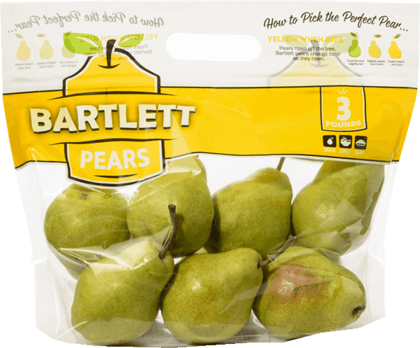 $1.00 for Bagged Bartlett or Bosc Pears (expiring on Tuesday, 04/02/2019). Offer available at Walmart.
