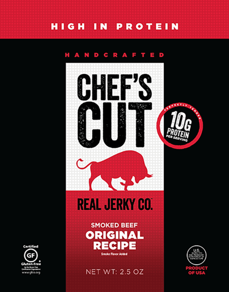 $0.50 for Chef's Cut Real Jerky®. Offer available at multiple stores.