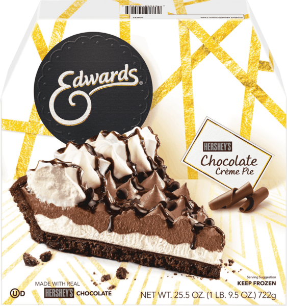 $0.75 for Edwards® Whole Crème Pie (expiring on Tuesday, 10/02/2018). Offer available at multiple stores.