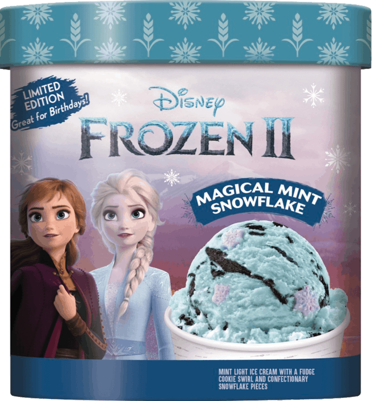 $1.00 for Disney Frozen 2 Limited Edition Light Ice Cream (expiring on Friday, 04/10/2020). Offer available at Walmart, Walmart Grocery.