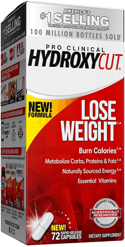 $3.00 for Hydroxycut Pro Clinical OR Pro Clinical Non-Stimulant. Offer available at multiple stores.