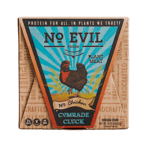 $2.00 for No Evil Foods Plant Meat (expiring on Saturday, 03/27/2021). Offer available at multiple stores.