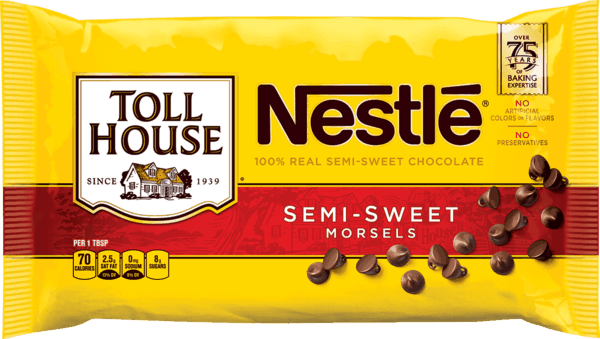 $0.50 for NESTLÉ® TOLL HOUSE® Morsels (expiring on Monday, 01/01/2018). Offer available at Walmart.