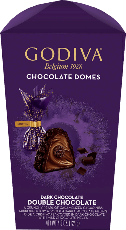 $1.00 for Godiva Chocolate Domes (expiring on Monday, 09/13/2021). Offer available at multiple stores.