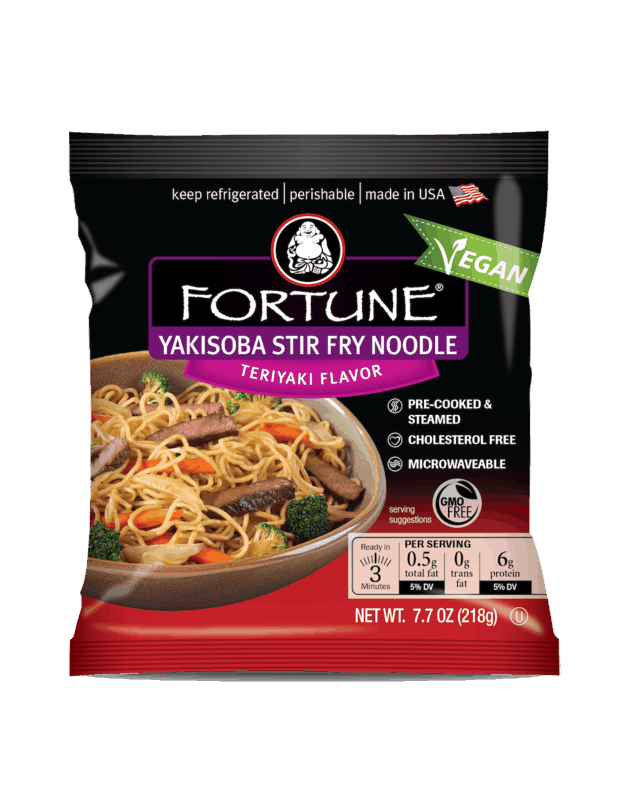 $1.00 for Fortune® Yakisoba Teriyaki Stir Fry Noodles (expiring on Thursday, 04/02/2020). Offer available at Walmart.