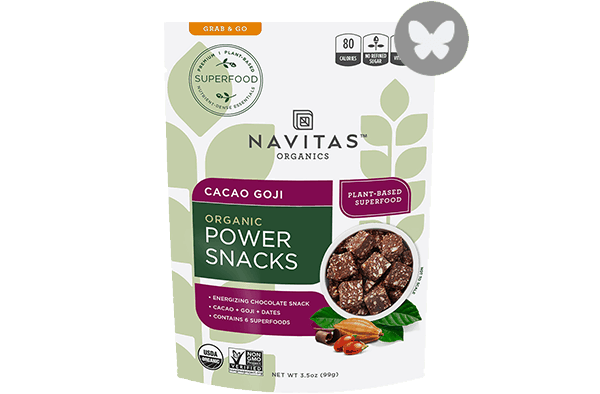 $1.00 for Navitas Organics™ Superfood Snacks (expiring on Wednesday, 05/02/2018). Offer available at multiple stores.