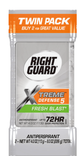$1.00 for Right Guard® Xtreme™ Antiperspirant Deodorant Twin Pack (expiring on Tuesday, 04/25/2017). Offer available at multiple stores.