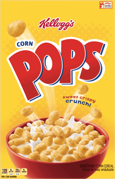 $1.00 for Corn Pops® Cereal (expiring on Sunday, 12/31/2017). Offer available at Publix.