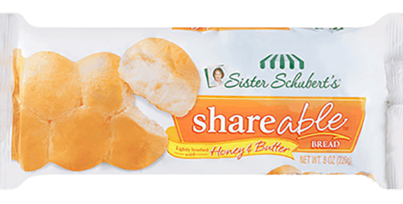 $1.00 for Sister Schubert's® Shareable™ Bread (expiring on Wednesday, 05/31/2017). Offer available at multiple stores.