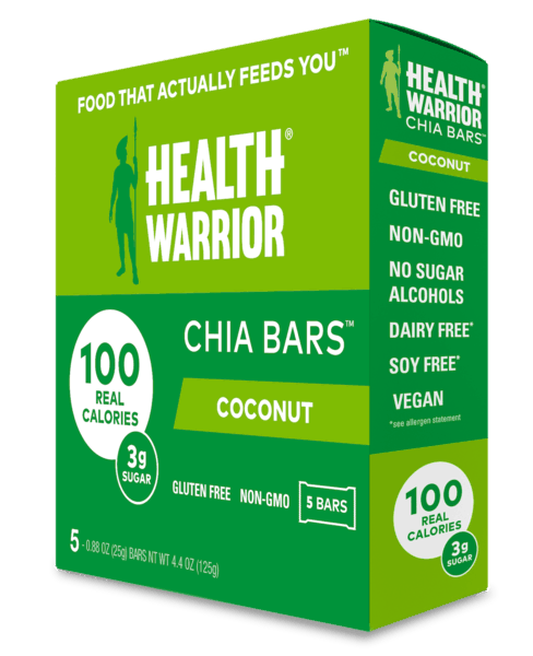 $1.00 for Health Warrior Chia Bars 5 ct. box (expiring on Wednesday, 01/02/2019). Offer available at Target.