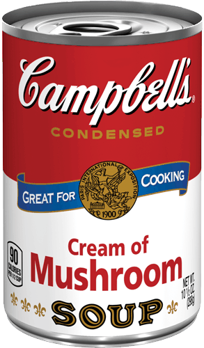 $0.50 for Campbell's® Condensed Cream of Mushroom Soup (expiring on Sunday, 12/24/2017). Offer available at Walmart.