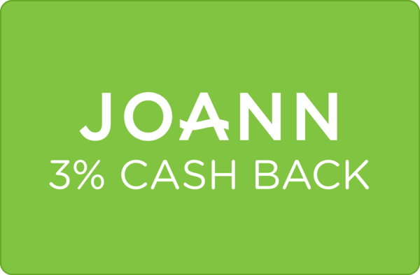 $0.00 for 3% at JOANN (expiring on Friday, 11/02/2018). Offer available at JOANN .