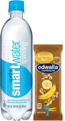 $1.50 for Glacéau smartwater® sparkling and Odwalla® Nourishing Bar Combo (expiring on Thursday, 03/09/2017). Offer available at Stop & Shop, Food Lion, Giant (DC,DE,VA,MD), GIANT (PA,WV,MD,VA), MARTIN'S.