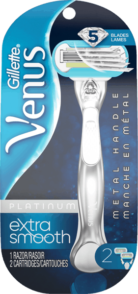 $2.00 for Gillette® Venus Platinum Razor (expiring on Saturday, 02/02/2019). Offer available at Walmart.