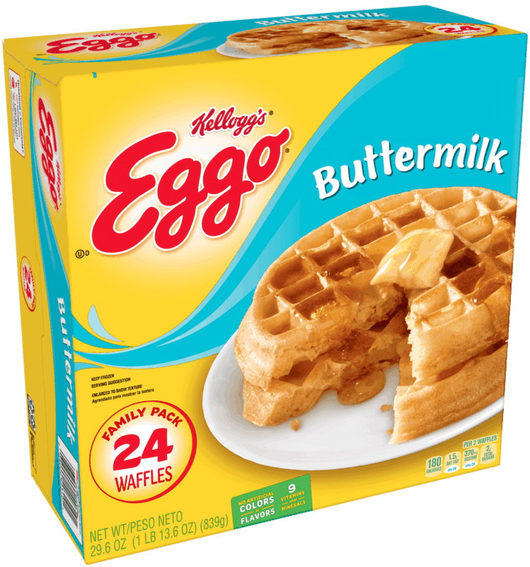 $0.50 for Eggo® 24 ct. Buttermilk Waffles (expiring on Monday, 03/02/2020). Offer available at Walmart.