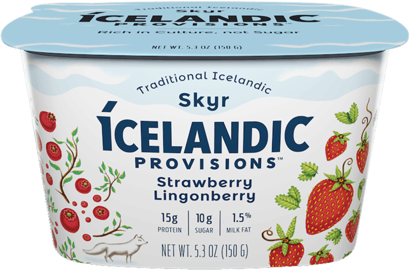 $1.00 for Icelandic Provisions™ Skyr (expiring on Monday, 09/02/2019). Offer available at multiple stores.