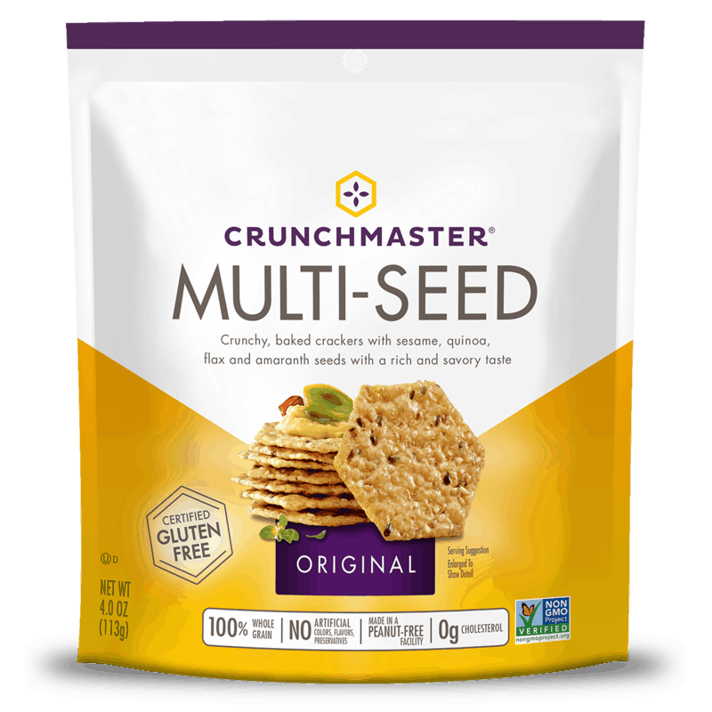 $0.50 for Crunchmaster® (expiring on Sunday, 03/01/2020). Offer available at Walmart.