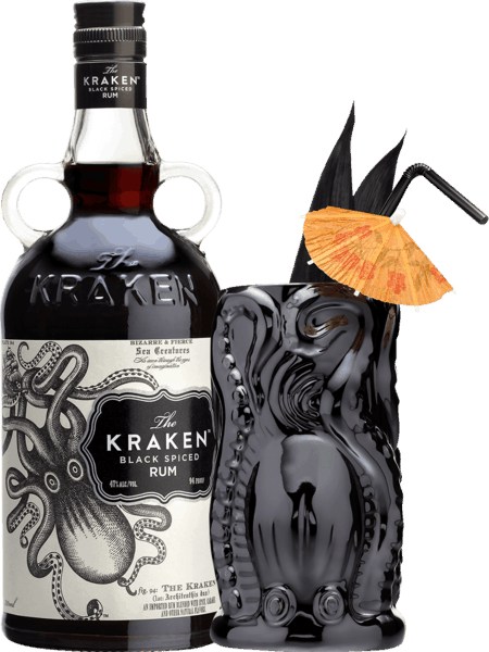 $2.00 for The Kraken® Black Spiced Rum. Offer available at Buffalo Wild Wings, Any Restaurant, Any Bar.