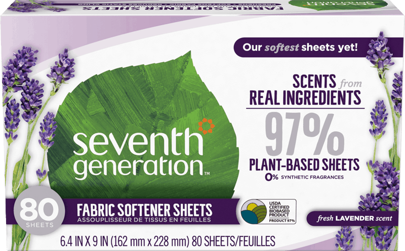 $1.00 for Seventh Generation™ Fabric Softener Sheets (expiring on Thursday, 02/06/2020). Offer available at multiple stores.