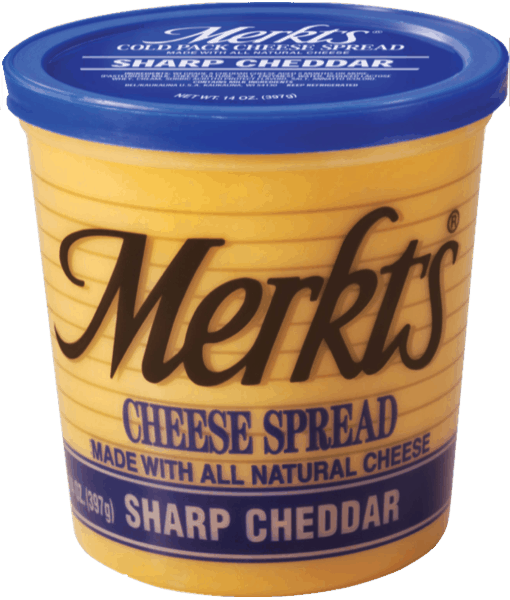 $1.00 for Merkts® Cheese Spread (expiring on Tuesday, 04/02/2019). Offer available at multiple stores.