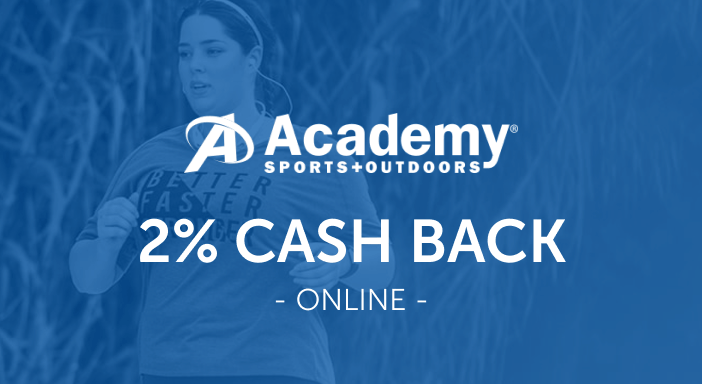 $0.00 for Academy Sports + Outdoors (expiring on Friday, 10/31/2025). Offer available at Academy Sports + Outdoors.