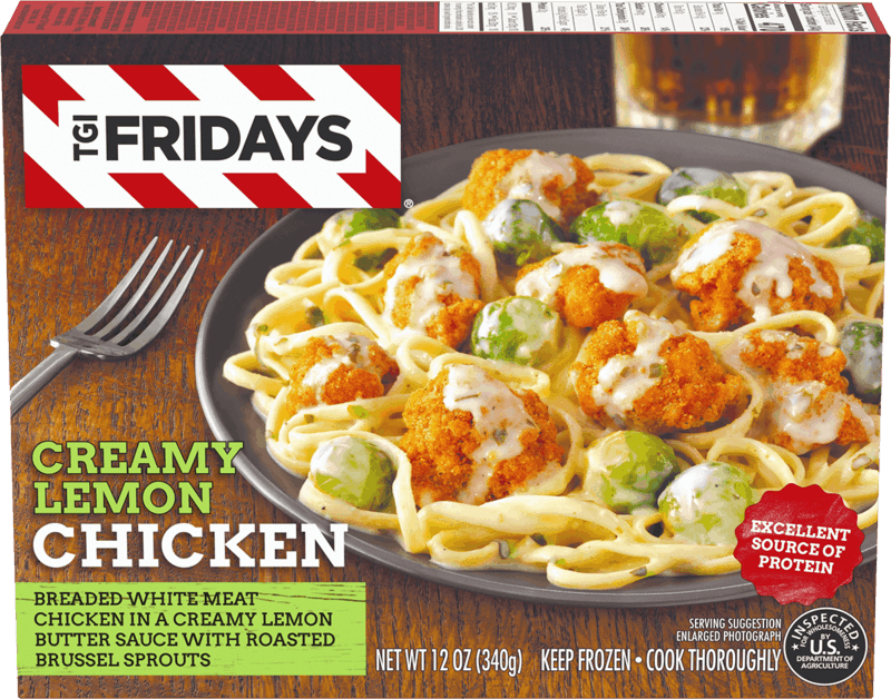 $0.50 for TGI Fridays™ Frozen Meals. Offer available at multiple stores.