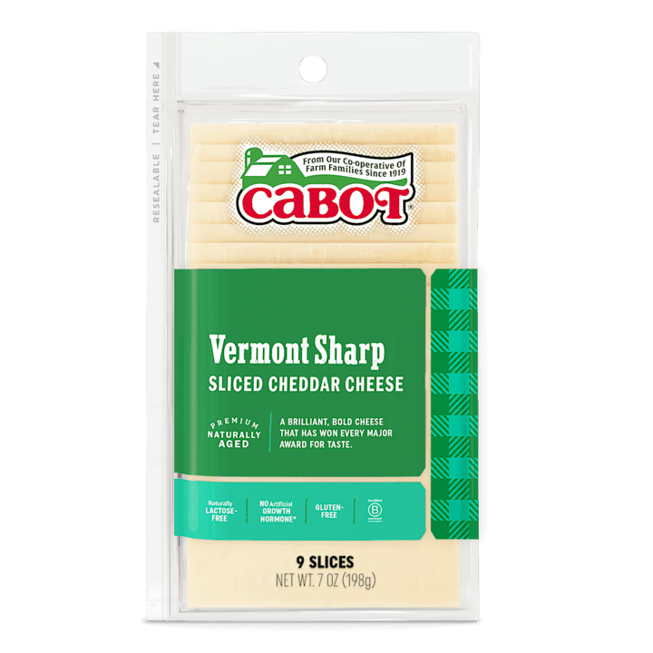 $0.75 for Cabot Shingled Sliced Vermont Sharp Cheddar Cheese (expiring on Thursday, 07/02/2020). Offer available at Schnucks.