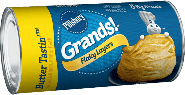 $0.20 for Pillsbury™ Grands!™ Refrigerated Biscuits (expiring on Saturday, 06/02/2018). Offer available at multiple stores.