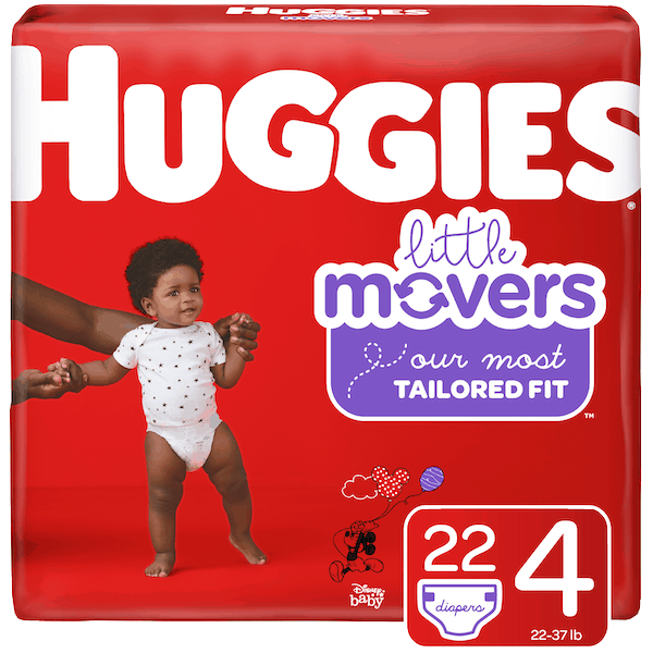 $1.00 for Huggies®Little Movers. Offer available at Target, Walmart, Meijer.