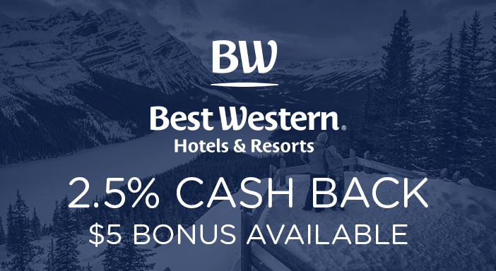 $0.00 for Best Western (expiring on Tuesday, 12/31/2019). Offer available at Best Western.