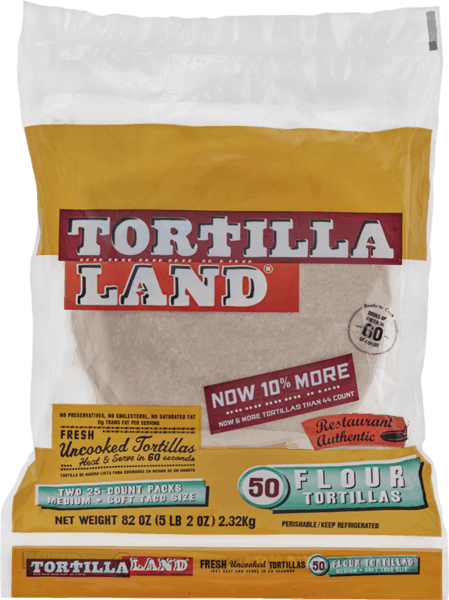$1.25 for TortillaLand® Uncooked Tortillas. Offer available at Costco.