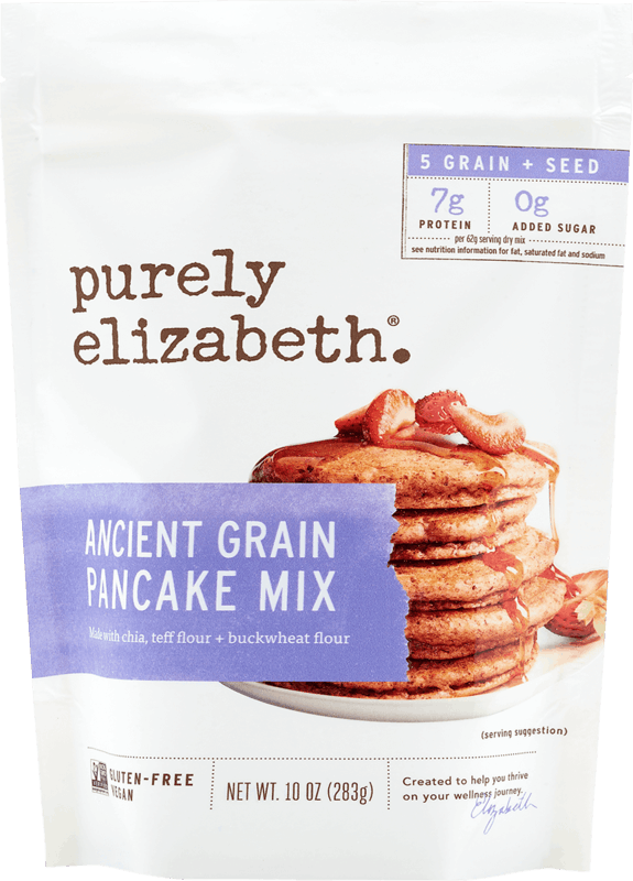 $1.50 for Purely Elizabeth Pancake Mix (expiring on Monday, 05/31/2021). Offer available at Target, Target Online.