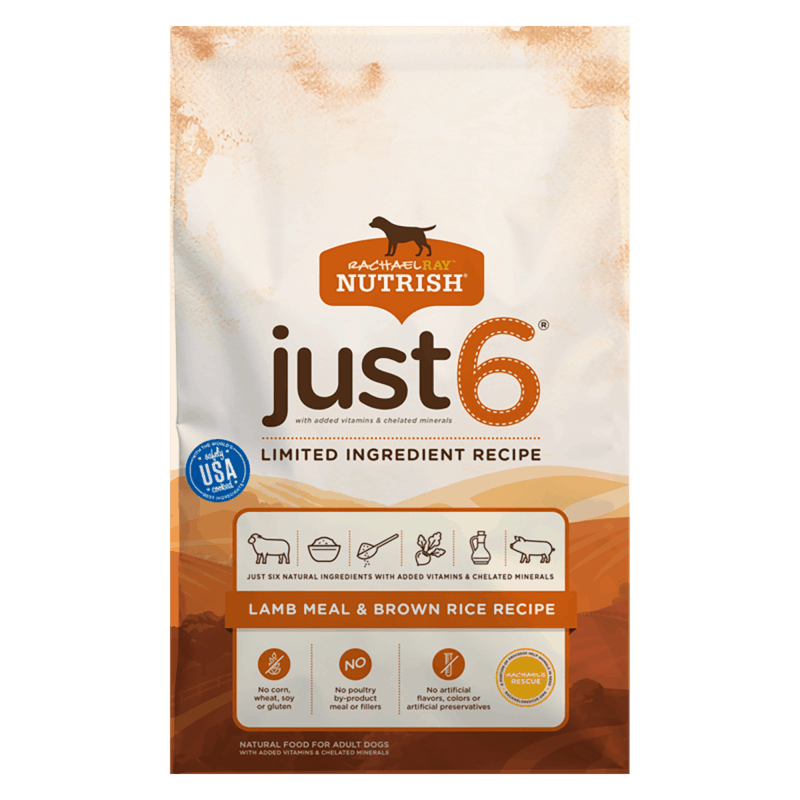 $1.50 for Rachael Ray Nutrish Just 6 or Zero Grain Dry Dog Food (expiring on Sunday, 04/12/2020). Offer available at multiple stores.