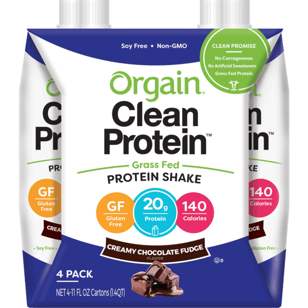 $2.00 for Orgain® Clean Protein Shakes. Offer available at Walmart.