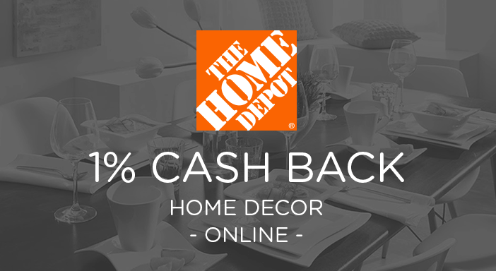 $0.00 for Home Depot Home Decor & Furniture (expiring on Wednesday, 05/06/2020). Offer available at HomeDepot.com.