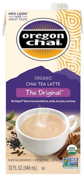 $0.75 for Oregon Chai® (expiring on Friday, 11/16/2018). Offer available at Walmart.