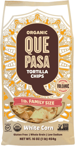 $1.00 for Que Pasa® Tortilla Chips & Salsas (expiring on Sunday, 09/02/2018). Offer available at multiple stores.