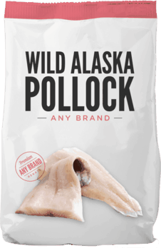 $0.50 for Wild Alaska Pollock - Any Brand (expiring on Sunday, 09/02/2018). Offer available at multiple stores.