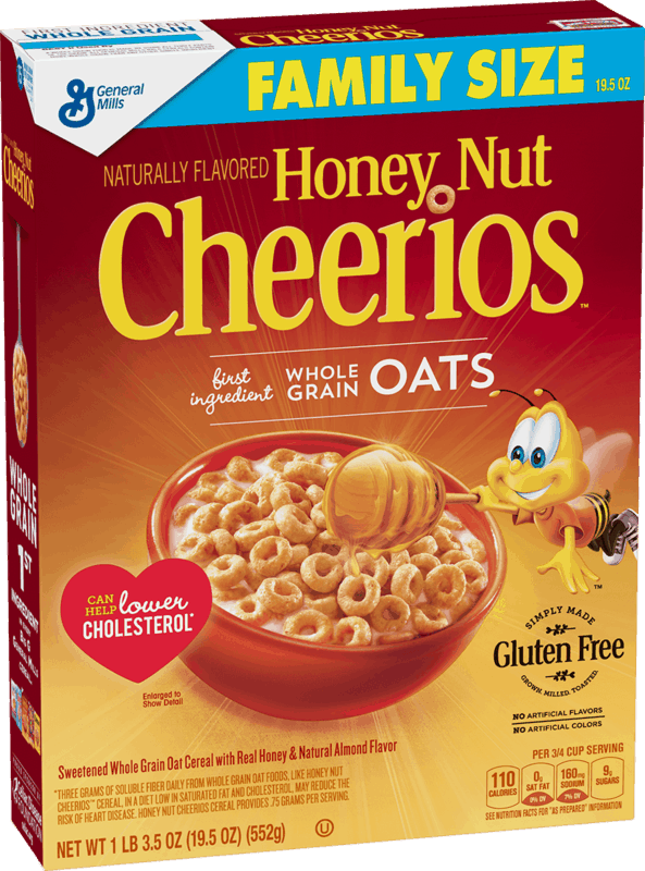 $2.00 for General Mills Family Size Cereal. Offer available at multiple stores.