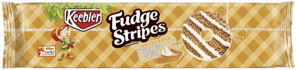 $1.00 for Keebler® Fudge Stripes™ Pumpkin Spice Cookies (expiring on Saturday, 06/02/2018). Offer available at Walmart.
